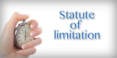 statute of limitations sexual abuse